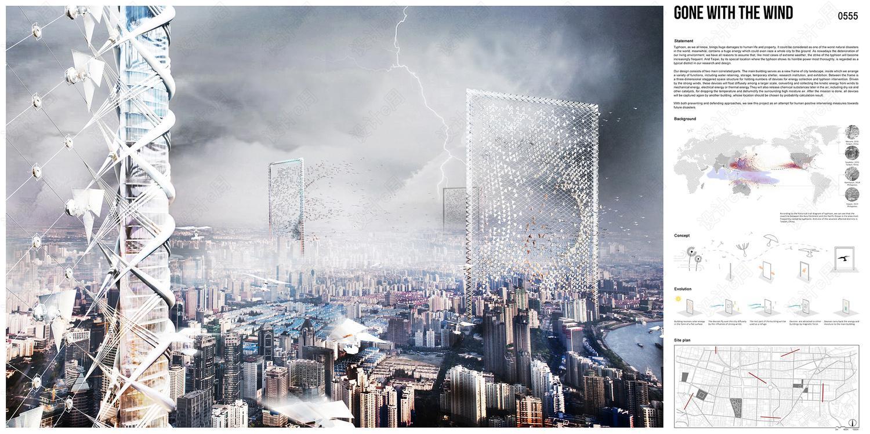 HONORABLE MENTION Gone with the Wind Skyscraper by Shenghui Yang, Xu Pan, Yue Song, Yingxin Cheng, Binci Wang, Yuerong Zhou, Yaying Zheng, Shiman Wang  China.jpg